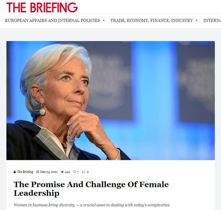 The Promise And Challenge Of Female Leadership