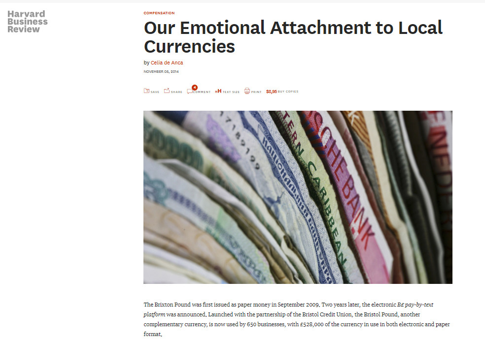 Our emotional attachment to local currencies